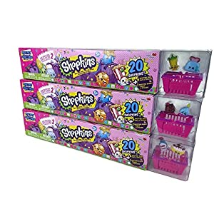 60 Shopkins Season 2 Ultimate Mega Pack Collectors Bundle 3 x 20 Packs (No Duplicates) - 51N4b5d94dL - 60 Shopkins Season 2 Ultimate Mega Pack Collectors Bundle 3 x 20 Packs (No Duplicates)