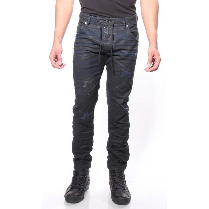 57e62400 Amazon.com: Diesel Krooley CB-NE 680B Jogg Jeans 0680B Straight Leg Regular  Slim Carrot Fit: Clothing
