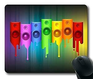 Culture Desk Music Rectangle mouse pad Diy Design
