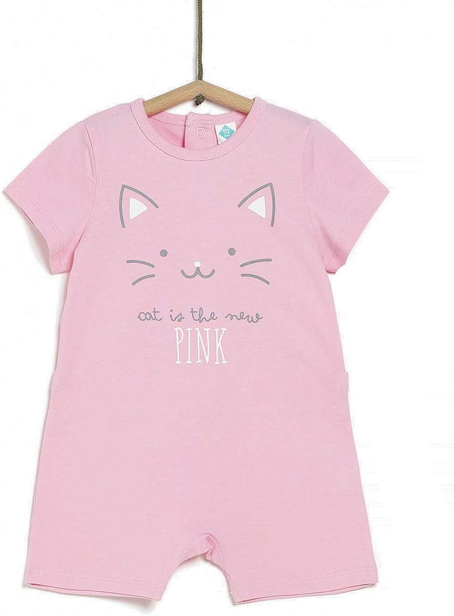 Pijama Corto Estampado Unisex TEX