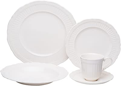 Red Vanilla FE900-905-4 Tuscan Villa Dinner Set44; 20 Piece