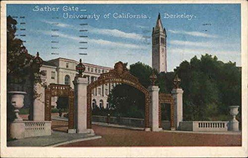 Sather Gate, University of California - Berkeley Berkeley Original Vintage - Sather Gate