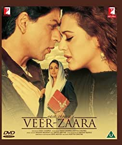 Veer Zaara Bollywood DVD With English Subtitles by