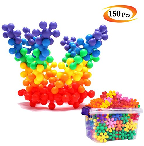 AGARE Creative Building Block Toys Set of 150 Pieces, A children Educational and Constructions Interlocking Plastic Toy - Best Gift for Kid