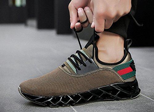 de LFEU Loisir Homme Chaussure Pour Chaussure Fitness Paresseux Running Jogging L Sport Respirant Sport Sneakers Course rrqEp