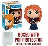 Funko Pop! Disney Series 5: Brave - Merida Vinyl Figure (Bundled with Pop BOX PROTECTOR CASE)