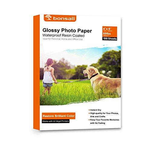 Sheet 13x19 A3 Matte Photo (Bonsaii Glossy Photo Paper,4x6 Inches,100 Sheets)