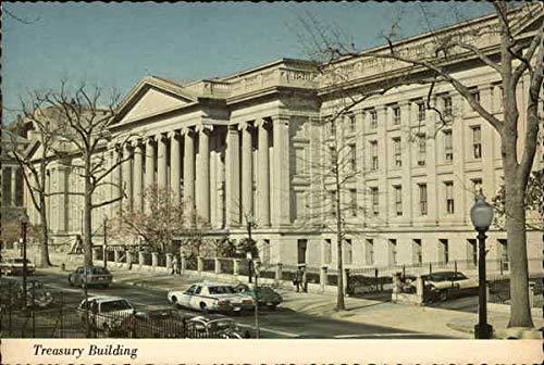 (Treasury Building Washington, District Of Columbia Original Vintage Postcard)