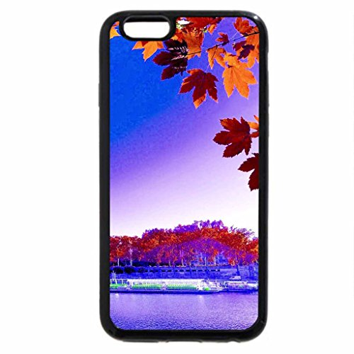 iPhone 6S / iPhone 6 Case (Black) EIFFEL in AUTUMN