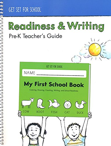 Get Set for School: Readiness & Writing Pre-K Teacher's Guide (Handwriting Without Tears) ()