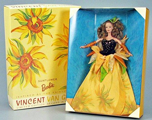 Mattel Barbie Collectibles (Sunflower Barbie Second in Series 1998)