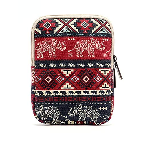 Shockproof Tablet Sleeve Case for Kindle/Kindle Paperwhite/Kindle Voyage, Protective Travel Pouch Bag for 6 Inch E-Reader Devices (Elephant) ()