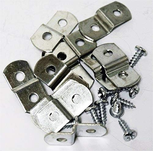 Extra Heavy Duty 1/8 Canvas Offset Clips With Screws 20 Pack