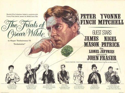 The Trials of Oscar Wilde Poster Movie Peter Finch James Mason Nigel Patrick Yvonne