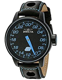 Invicta Men's 17702 S1 Rally Analog Display Swiss Quartz Black Watch