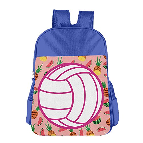 Price comparison product image Boys' &G Irls' I Love Volleyball Schoolbag RoyalBlue