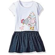 Mud Pie Baby Toddler Girls' Casual Playwear Sun Dress 2, Hen, 2T