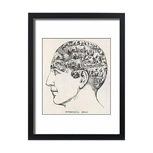 Framed 24X18 Print Of Paranormal Phrenology (4342663) by Prints Prints Prints