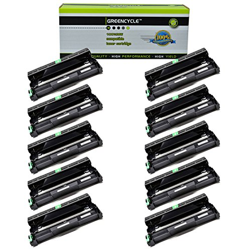 10 Pack of Compatible Drum Unit Replacement for Brother DR420 DR420/2200 12000 Pages Black