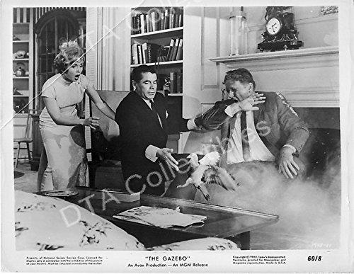 MOVIE PHOTO: GAZEBO, THE-1959-DEBBIE REYNOLDS-GLENN FORD-B&W STILL VG