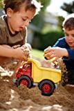 Green Toys Dump Truck in Yellow and Red - BPA