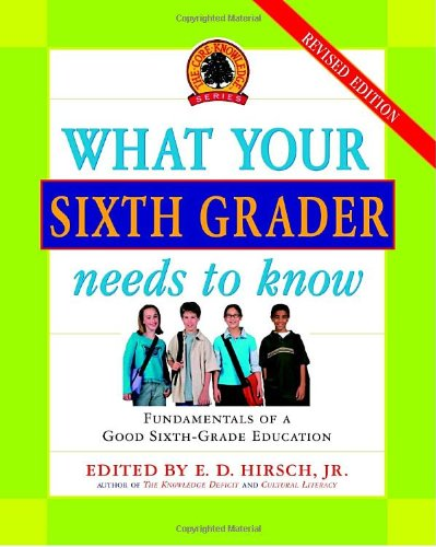 What Your Sixth Grader Needs to Know, Revised Edition (Core Knowledge Series)
