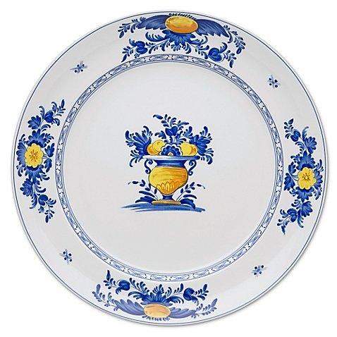 Vista Alegre Viana 13-Inch Round Platter (Fiesta Round Chip Dip Tray)