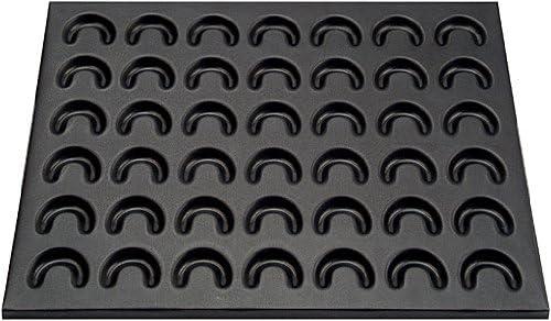 Menge: 1 x 3er Set Vanillekipferl einfach selbst backen Zenker Vanillekipferl-Set Teigschaber zum Bestreichen Puderzuckersieb zum Bestreuen 42er-Kipferl-Backblech mit Antihaftbeschichtung