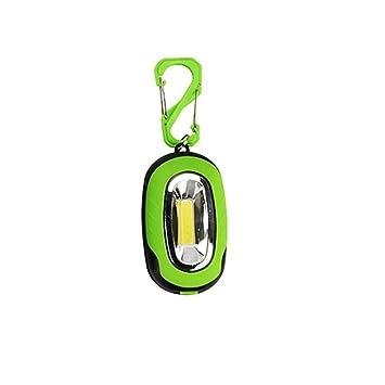 Llavero lámpara, hunpta portátil Super Mini COB luz LED ...