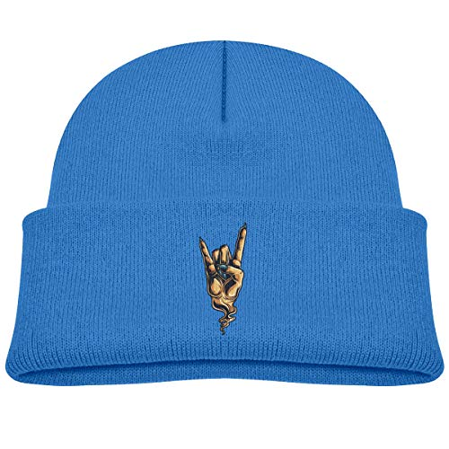 Kids Knitted Beanies Hat Music Rock Winter Hat