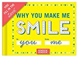 img - for Knock Knock Why You Make Me Smile Fill in the Love Journal book / textbook / text book