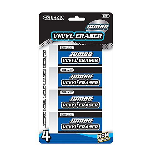 Cheap BAZIC Jumbo Vinyl Eraser (4/Pack) supplier
