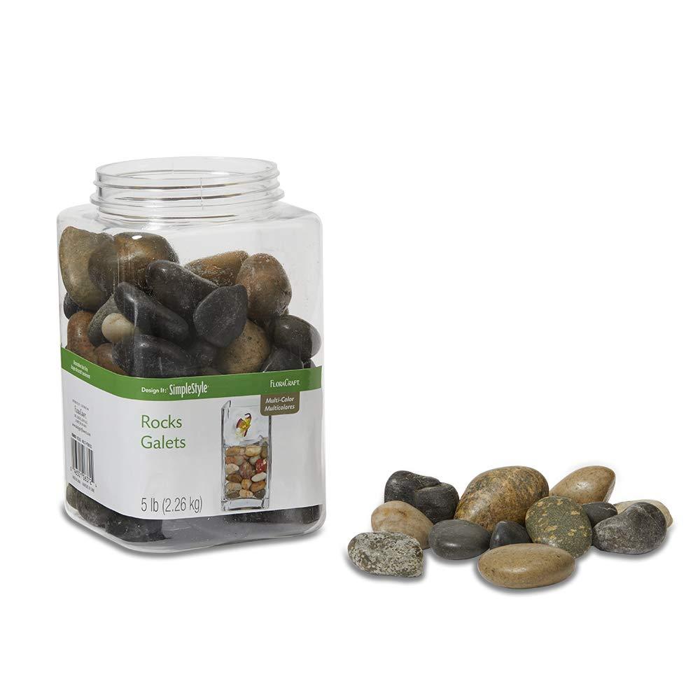 B Grade - Meta Pot Model: GTROSB 1 lb of Rose Quartz Tumbled Stones