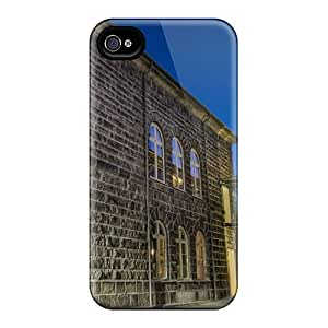 Fashion Case Cover For Iphone 4/4s(old New Buildings Connected)