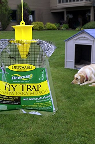 042853773014 - RESCUE! FTD Non-Toxic Disposable Fly Trap carousel main 2