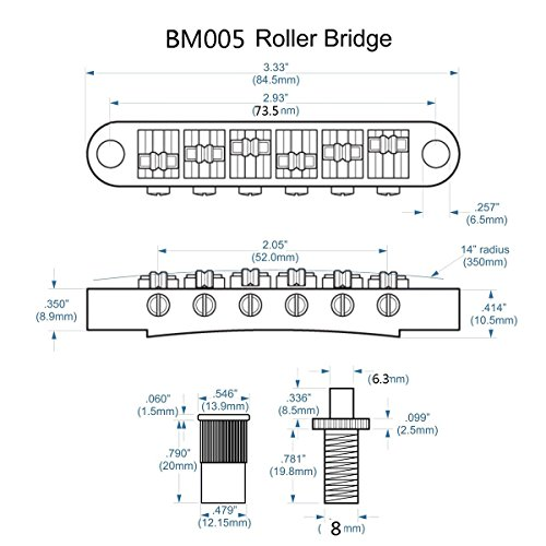 Buy roller bridge saddles