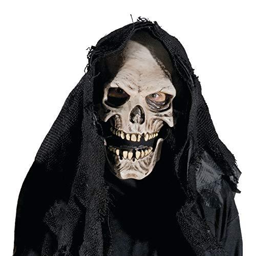 Fun Express - Grim Reaper Mask for Halloween - Apparel Accessories - Costume Accessories - Masks - Halloween - 1 Piece -