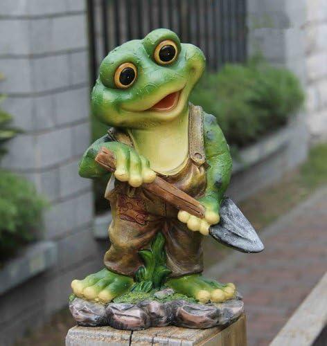 1a-Handelsagentur 11151 - Figura decorativa para jardín (29 cm), diseño de rana: Amazon.es: Jardín
