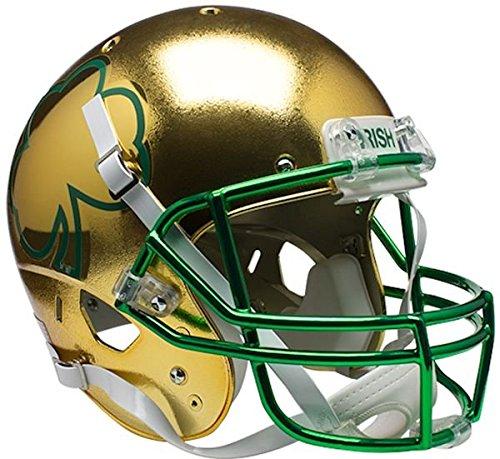 (Schutt Sports NCAA Notre Dame Fighting Irish Replica Football Helmet, ALT 7)
