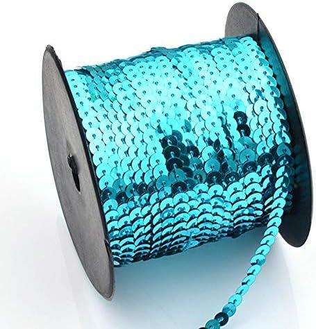 Cordones de lentejuelas de tela con purpurina para coser o decorar ...