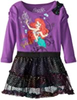 Disney Baby Girls' Long-Sleeve Ariel Dress