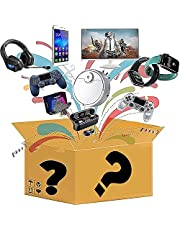 Mystery box, mysterious box electronic product, random mystery box, birthday surprise gift box, adult gift box lucky gift box, such as drone, smart watch, game handle, etc. (a single random)