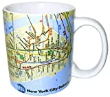 MTA of New York Unique Subway Map Souvenir Coffee Mug