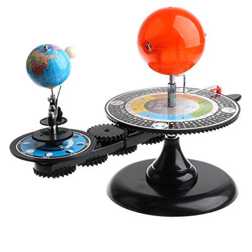 MagiDeal Sun Earth Moon Solar System Orbital Model Educational Planetarium Project