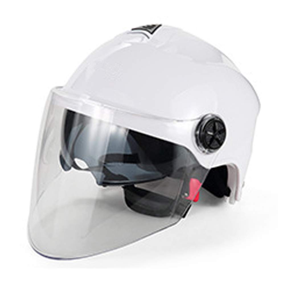 DRAGSP Casco para Motocicleta Eléctrica, Casco Transpirable ...