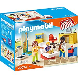 Playmobil City Life 70034 Set de Juguetes - Sets de Juguetes (Baby Doctor, 5 año(s), Niño/niña, Interior,, 195 mm) 7