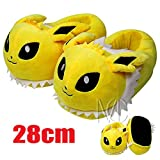 Pokemon Jolteon Soft Plush Slipper House Shoes for Adult