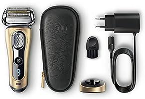 Braun Series 9 9299s Gold Edition - Afeitadora de lámina en húmedo y seco, titanio, LED, batería Ión de litio, dorado: Amazon.es: Salud y cuidado personal
