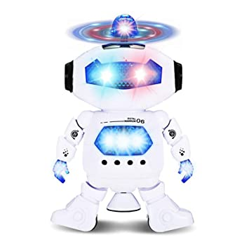 Toys For Boys Robot Kids Toddler Robot Dancing Musical Toy Birthday Xmas Gifts