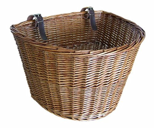 Wicker Pet Bicycle Basket (Bicycle Bike Basket)